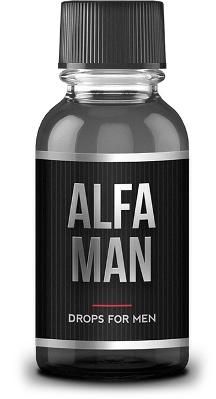 капли Alfa Man для эрекции