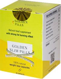 Капсулы для похудения Golden Pills