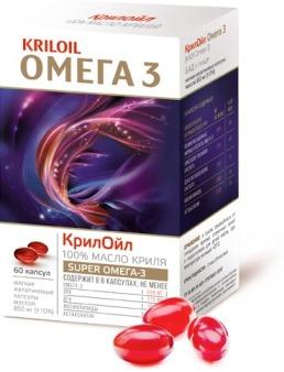 КрилОйл Омега-3 масло от гипертонии