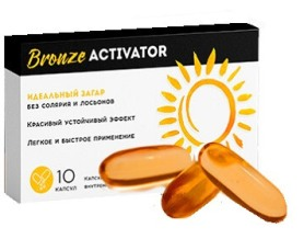 Bronze Activator капсулы для автозагара