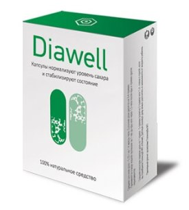 Diawell капсулы от диабета