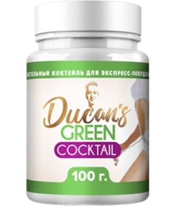 Зеленый коктейль Дюкана напиток для похудения