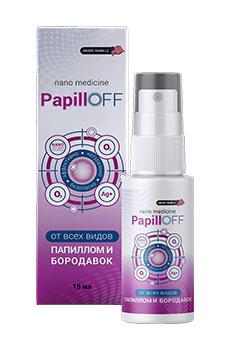 PapillOff для удаления папиллом