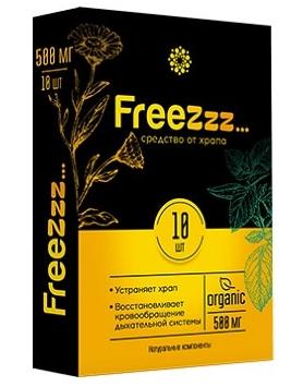 Freezzz таблетки от храпа