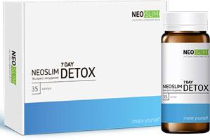 Капсулы NeoSlim 7 Day Detox для похудения