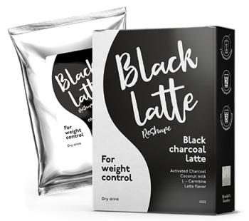 Black Latte растворимый напиток для похудения