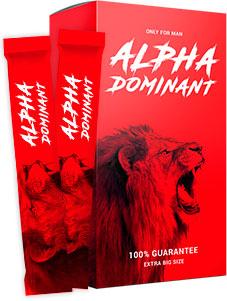 Гель Alpha Dominant для увеличения пениса