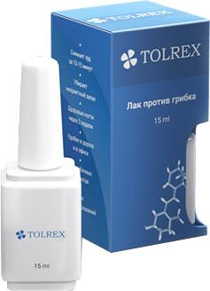 Лак Tolrex от грибка ногтей